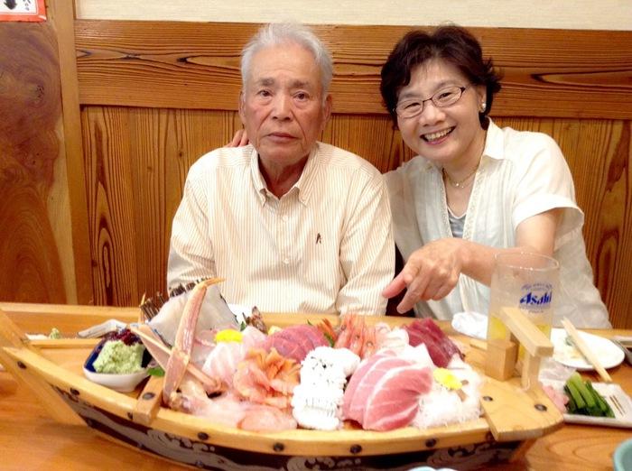 喜寿、古希のお祝い