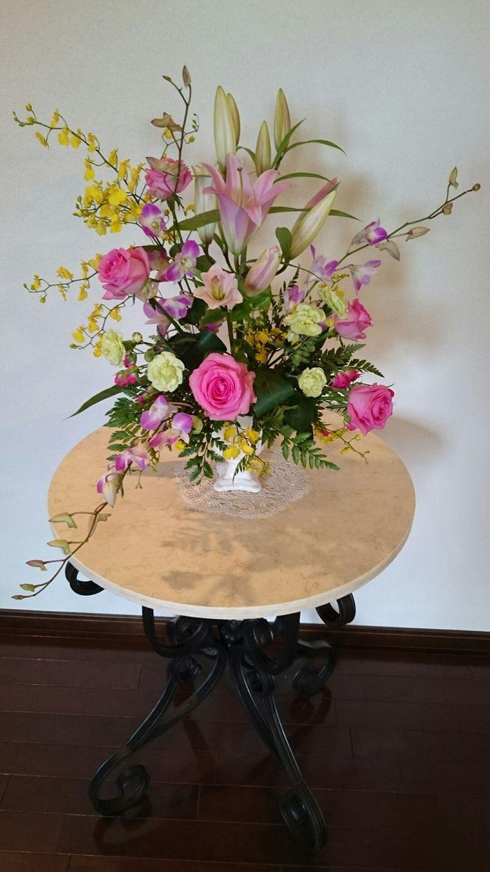 応援のお花